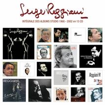 SERGE REGGIANI INTEGRALE DES ALBUMS STUDIO 1968-2002