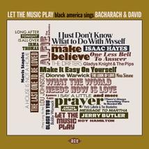 LET THE MUSIC BLACK AMERICA SINGS BACHARACH & DAVID