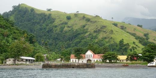Architecture coloniale à Neves (São Tomé)