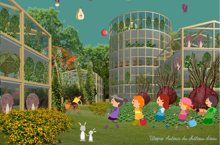 """""""Desired Spaces"""" - Gwenaelle Di Piazza et autres : Une ville mangeable - La bibliothèque après 60 ans"""