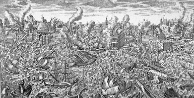 Tremblement de terre de Lisbonne en 1755