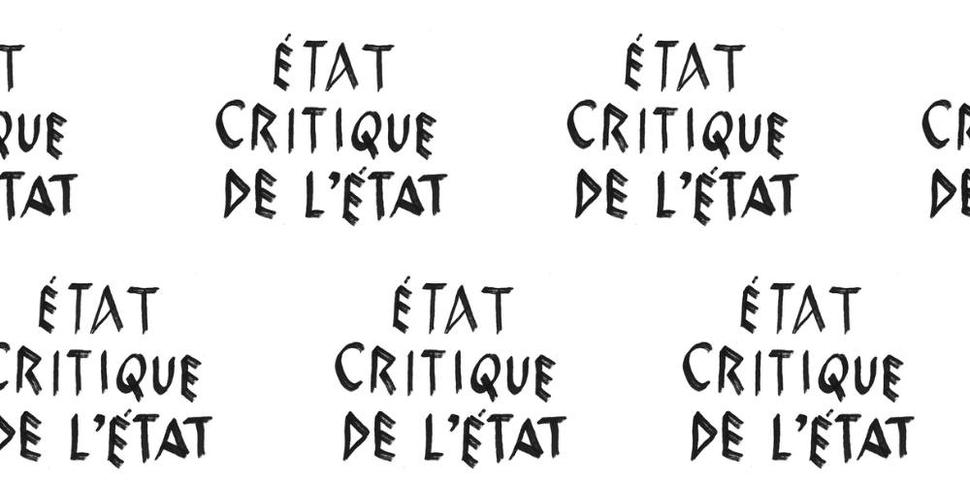 État critique et critique de l´État