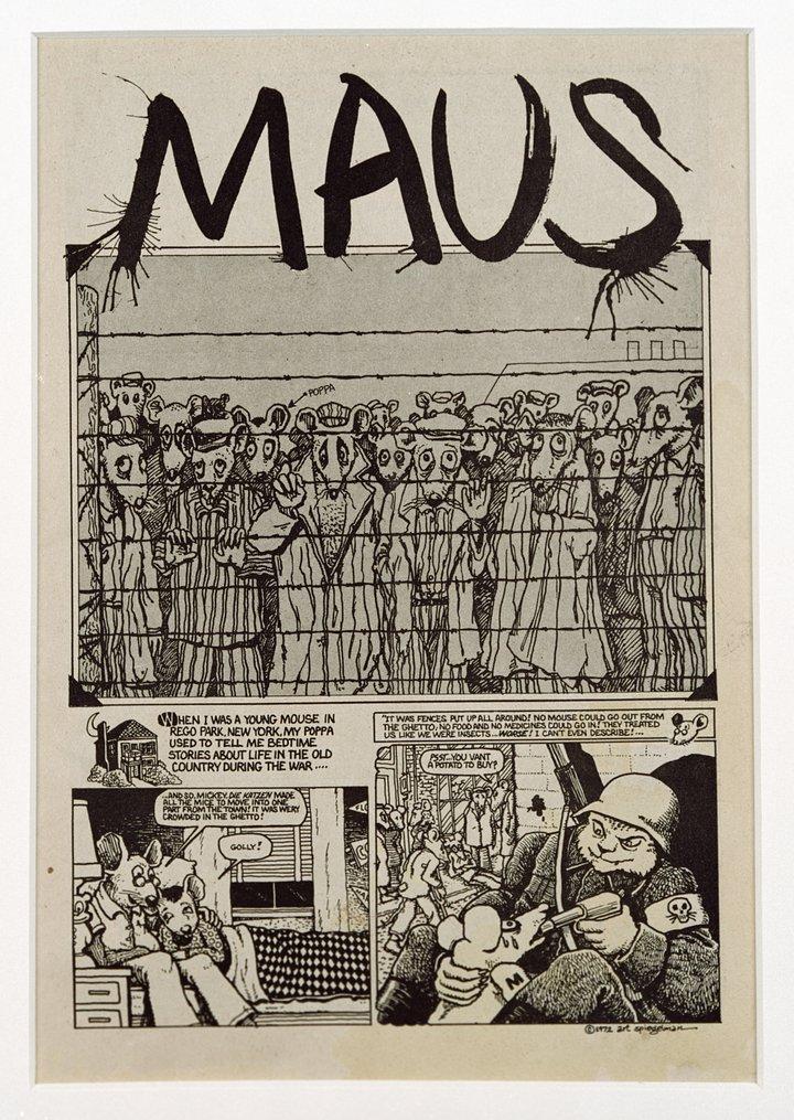 Art Spiegelman, Maus, Funny Animals, 1, 1972 © Art Spiegelman