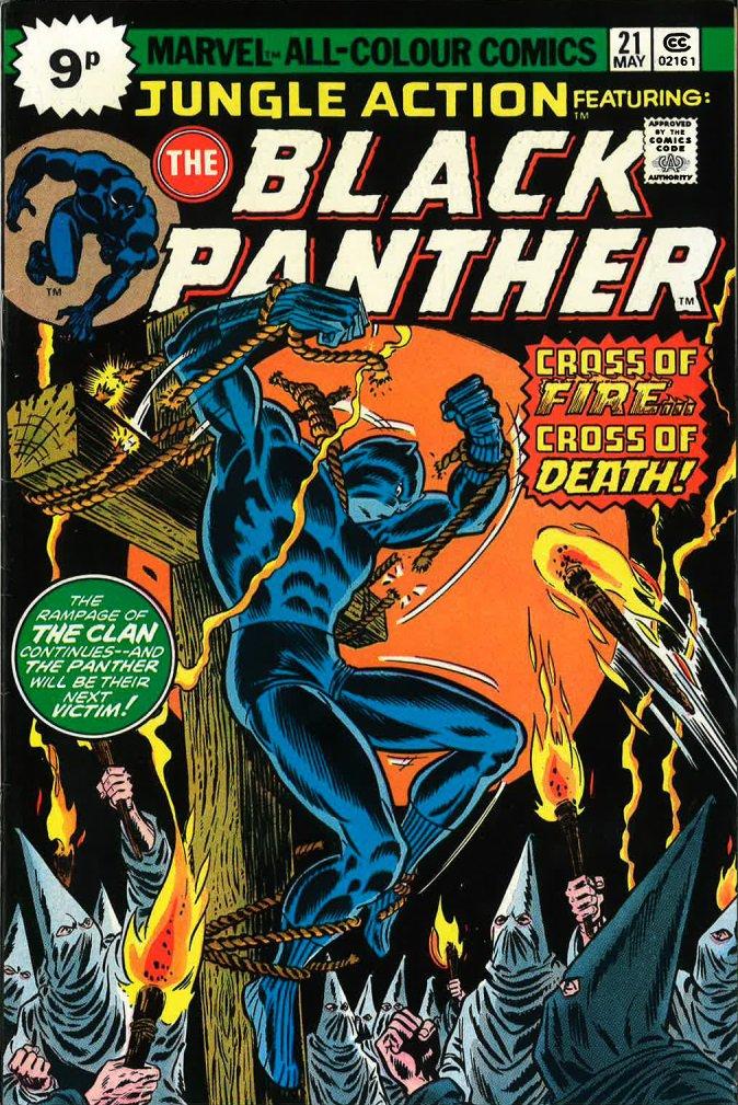 John Romita Sr, Danny Crespi, Black Panther, Jungle Action, 21, 1976 © Marvel Comics Group