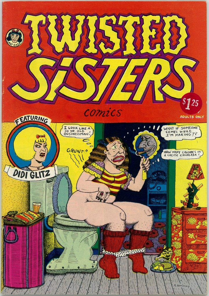 Aline Kominsky-Crumb, Diane Noomin, Twisted Sisters, 1976 © Aline Kominsky-Crumb