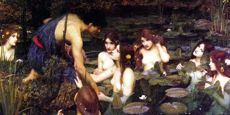 waterhouse hylas_and_the_nymphs