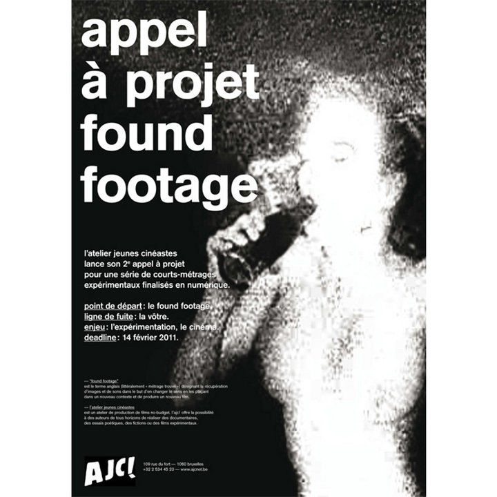 "AJC! - appel a projets ""Found Footage"""
