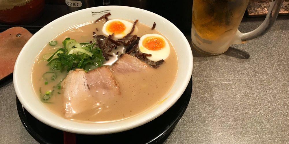 Hakata tonkotsu, ramen de Hakata (Kyushu) – Anne-Sophie De Sutter