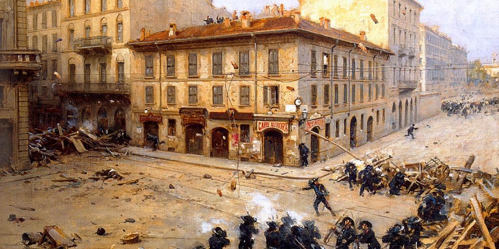 Achille_Beltrame,_Episodio_dei_moti_rivoluzionari_alla_Foppa,_1900_ca.jpg