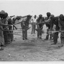 African American convicts working  TARTINES Work songs