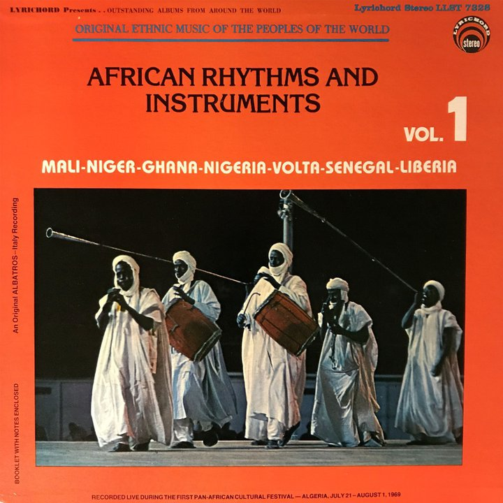 African Rhythms and Instruments - vol 1