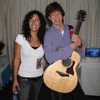 Ana Moura et Mick Jagger