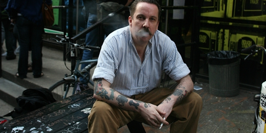 Andrew Weatherall at Rough Trade East - photo creative commons Spencer Hickman
