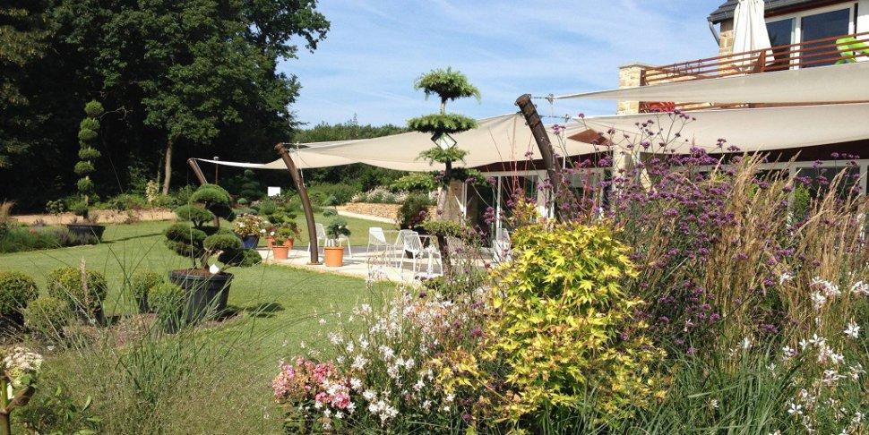 Arabelle Meirlaen - Cuisine intuitive - vue du jardin