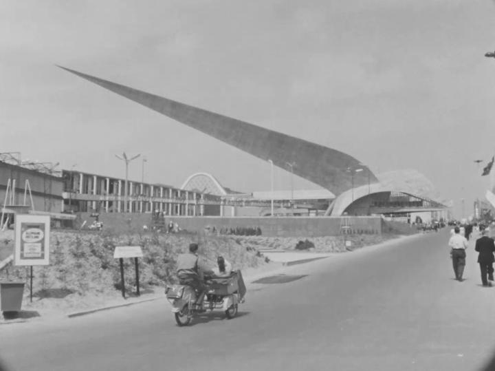 Architecture à l'Expo 58