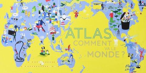 Atlas - comment va le monde ? - Actes sud junior