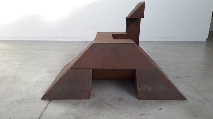 Raphaël Zarka - Riding Modern Art 4 - BPS22