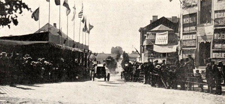 Bastogne - Circuit des Ardennes - 1904