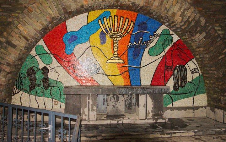 Bastogne - Mardasson - mosaïque Fernand Léger 1