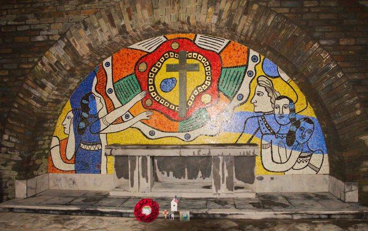 Bastogne - Mardasson - mosaïque Fernand Léger 3