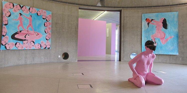 Bastogne -  Orangerie 1 - (c) François Marcadon - vue de l'installation Ah... l'amour! 2017