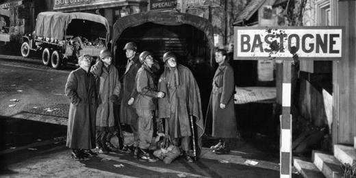 Bastogne au cinéma - le film Bastogne de William A. Wellman en 1949