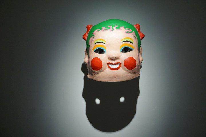 Benoît + Bo - Happy Heads - Musée international du carnaval et du masque (Binche)
