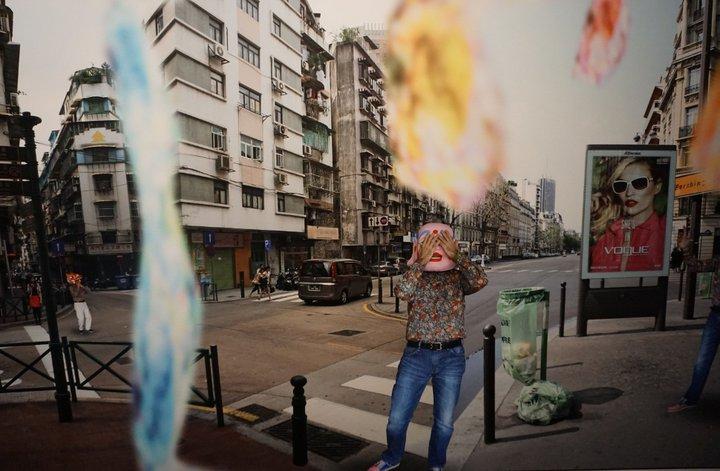"Benoît + Bo - ""Macao Rockets"" - Musée international du carnaval et du masque (Binche)"