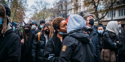 Bertrand Vandeloise - manif paris 12 décembre - BV-9