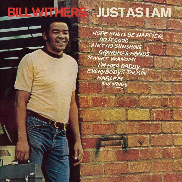 """Bill Withers - """"Just as I Am"""" - pochette"""