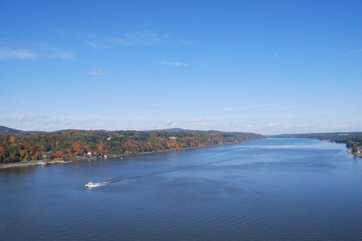 Le fleuve Hudson