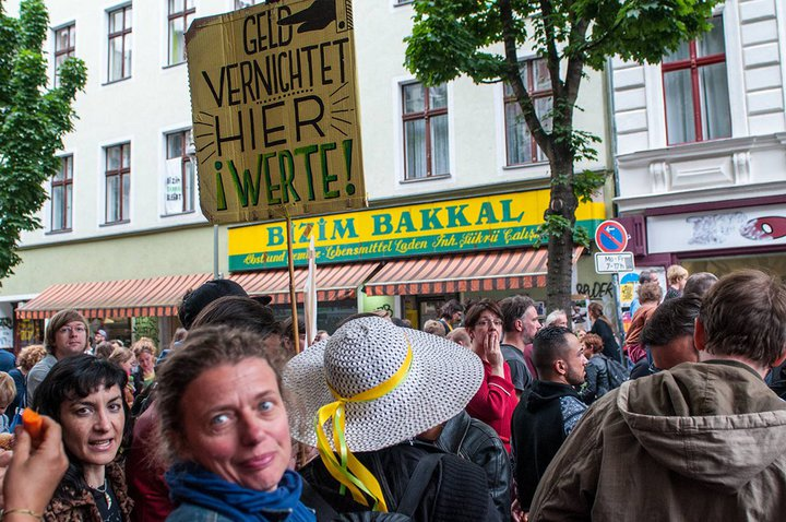 Bizim Bakkal - Kreuzberg, Berlin - rassemblement de juin 2015