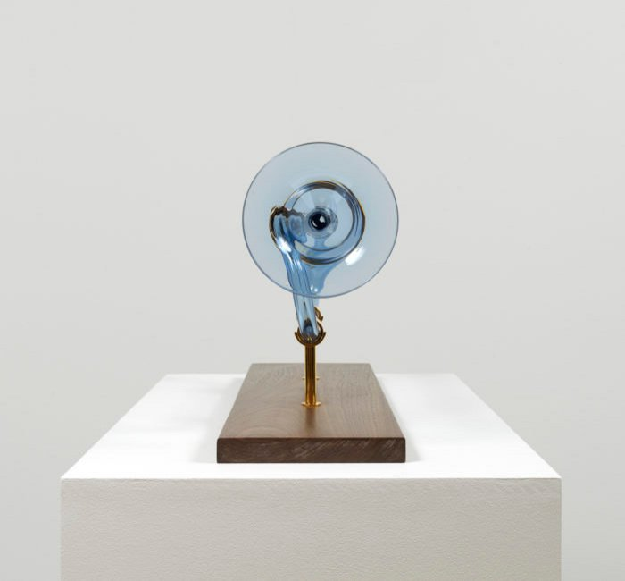 Blue Cosmic trumpet - (c) Josiah McElheny