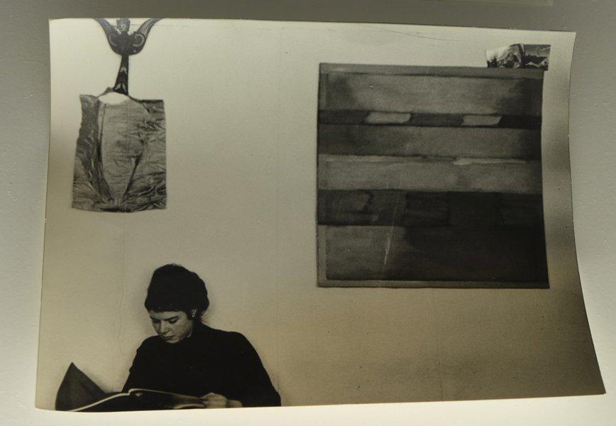 photo de Bob Lens à la Fondation Verbeke