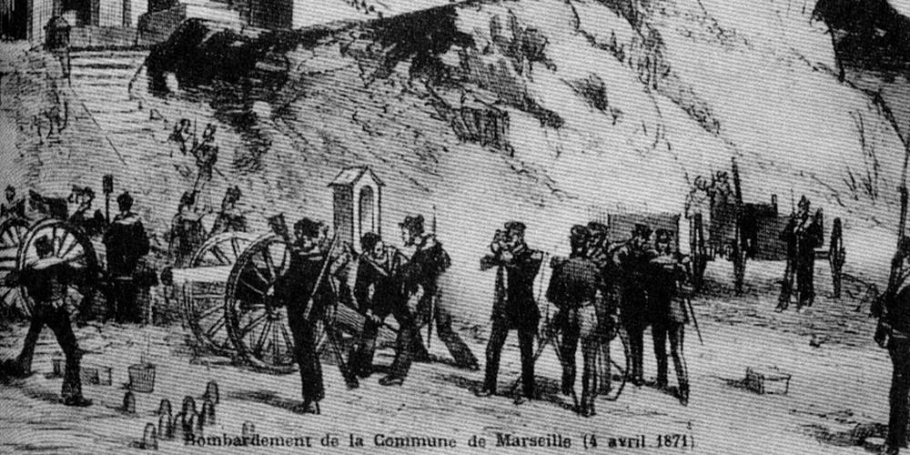 Bombardement de la Commune de Marseille le 4 avril 1871