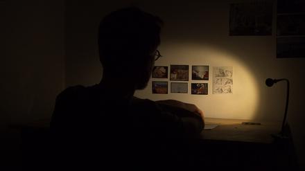 """Boris Van der Avoort : """"Le Dormeur éveillé"""" - bureau de nuit"""