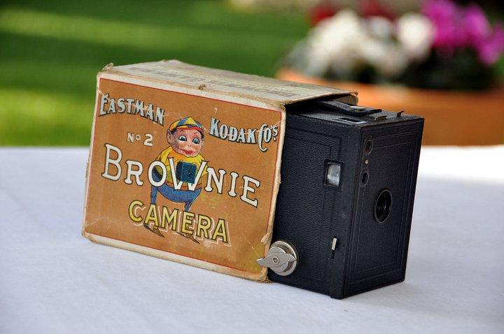 appareil photo Brownie n°2 d'Eastman Kodak