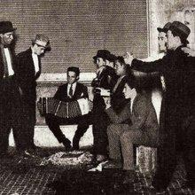 Buenos Aires - hommes dansant le tango