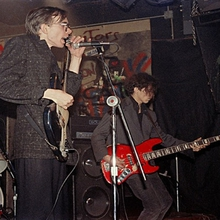 Catherine Ceresole DNA at CBGB 24 12 1981