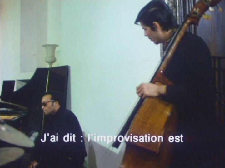 Cecil Taylor à Paris C1 - (c) Ferrari et Patris, ORTF - INA 1966