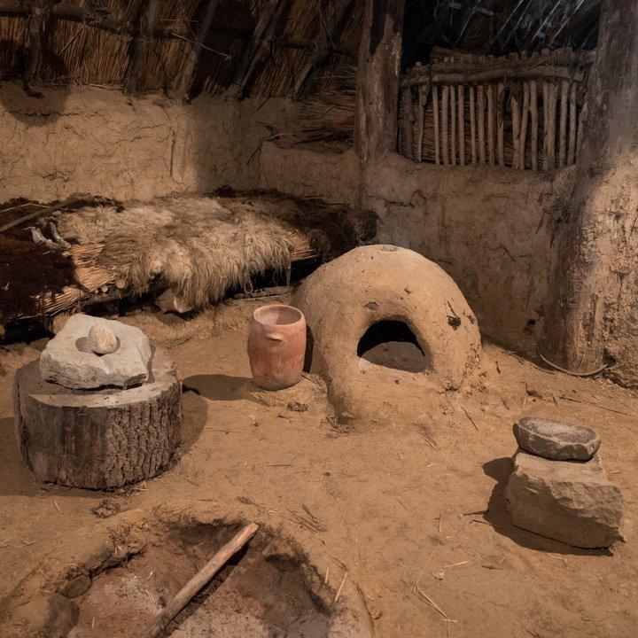 Archéosite et Musée d'Aubechies-Beloeil - La meule 1 - Céline Bataille