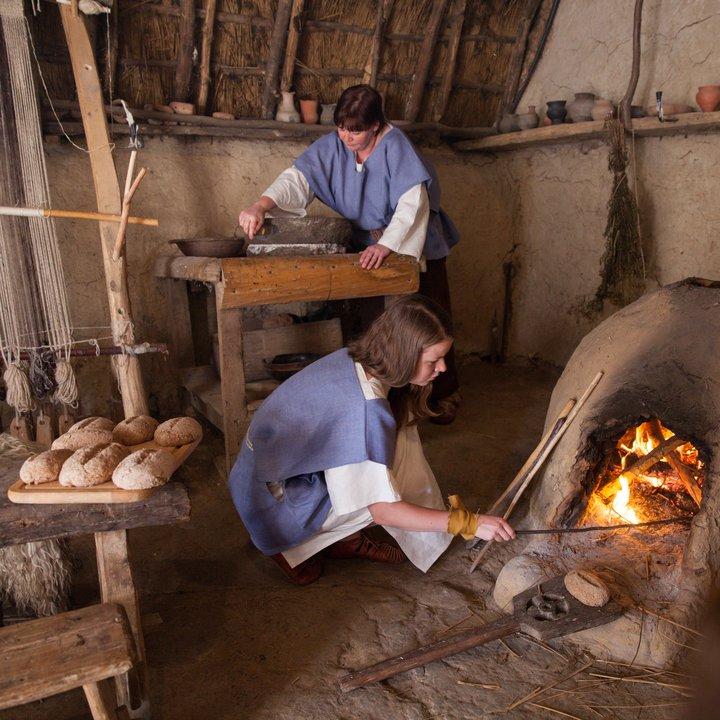 Archéosite et Musée d'Aubechies-Beloeil - La meule 11 - Céline Bataille