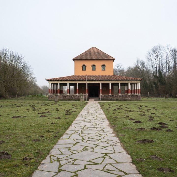 Archéosite et Musée d'Aubechies-Beloeil - La meule 6 - Céline Bataille
