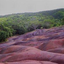 Les terres des sept couleurs à Chamarel - une photo de Toutaitanous 2