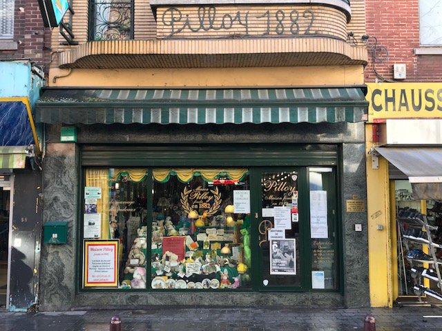 Charleroi - Maison Pilloy - façade