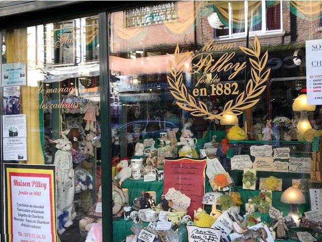 Charleroi - Maison Pilloy - vitrine
