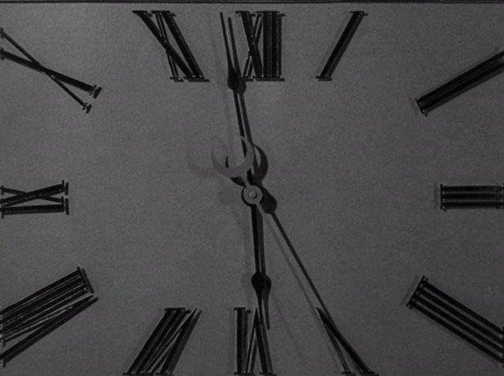 Les Temps modernes - Charlie Chaplin - horloge 1