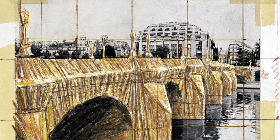 Christo in Paris - (c) Christo