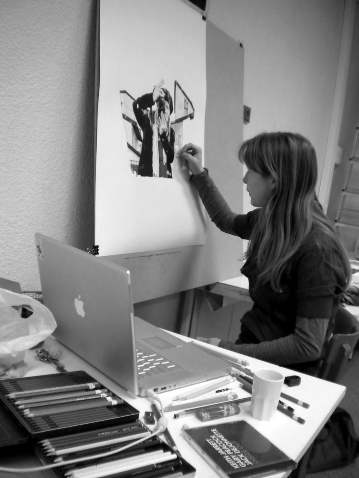 Clara-Fanise-en-résidence-Cran-gevrier-2010