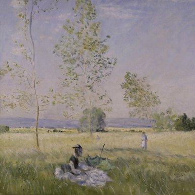 Claude Monet, l'été. Veille Juillet